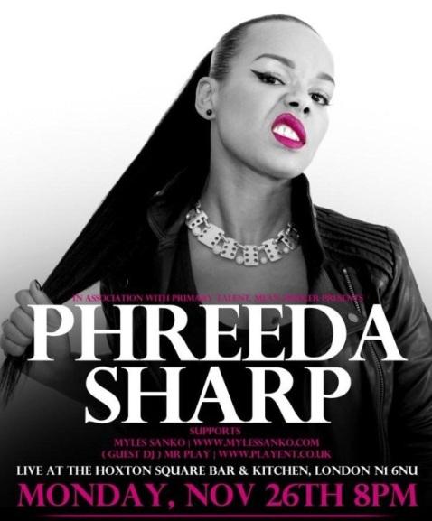 Phreeda poster