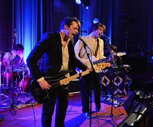 Palma Violets: Image from BBC Radio 1